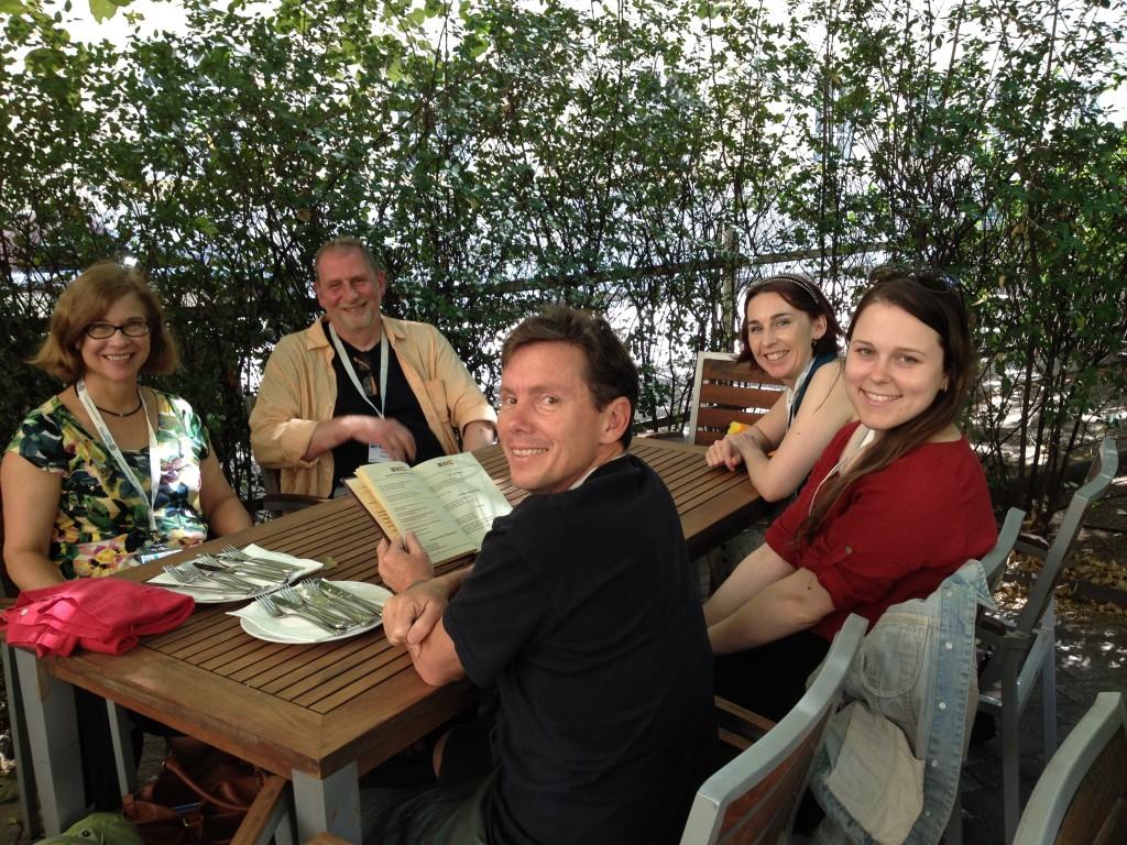 Lunch in Vienna