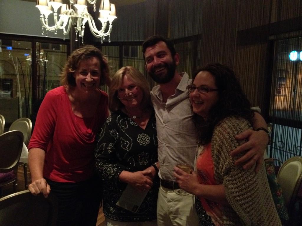 Cate, Vanessa, Paul and Rhoda